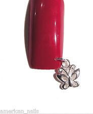 Piercing Bijou Ongle Argent .925 VERITABLE Papillon Nail Art