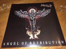 "Judas Priest ""Angel of Retribution"" Album Art/Band_ 2-Sided Promo Poster(2005)"