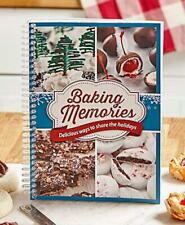 This Baking Memories Cookbook celebrates holiday baking, a time-honored traditio
