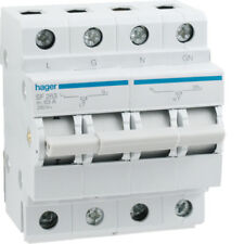 Hager SF263 Generator Changeover Switch Modular 63A Australian Approved