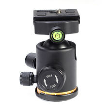 "12Kg Metal Swivel Camera Tripod Ball Head Ballhead with 1/4"" Quick Release Plate"