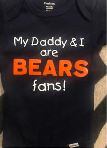 Chicago Bears baby Onesie ® bodysuit infant one piece football toddler shirt new