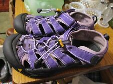 WOMANS PURPLE KEEN SHOES SANDALS WATERPROOF WASHABLE SIZE 6