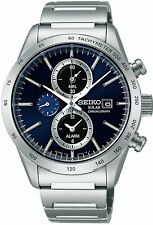 Seiko Spirit Smart SBPY115 Chronograph Solar Sapphire Glass  From Japan