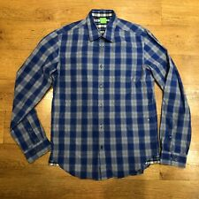 "Hugo Boss Green Label Check Shirt Medium 40"" Chest"
