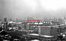 PHOTO  LONDON 1962 NW FROM NEW GUY'S HOUSE TO CITY - IN SNOW