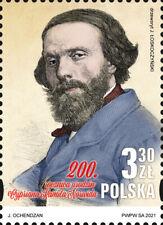 Poland / Polen 2021 - Fi 5176** 200th Anniversary of Birth Cyprian Kamil Norwid