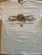 XFL Pro Football League 2001 - Las Vegas Outlaws T-Shirt - BRAND NEW w/ Tags