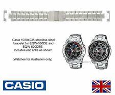 Genuine Casio Watch Strap Band EQW-500DE, EQW-500DB Edifice Watches - Metal Band