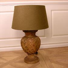 DEKOLAMPE LAMPE LAMPENFUß HOLZ TISCHLEUCHTE IMPRESSIONEN BAROCK ROKOKO ART DECO