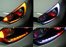 LED Head Light Eye Line DIY Kit Module 2way LH RH For 12 14 Kia Rio 5DR