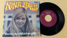 """7"""" Amiga Nina Lizell - Wenn's nur Mädchen gäb, Mach doch kein Geheimnis, 455861"""