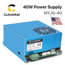 40W PSU CO2 Laser Power Supply for Engraver Cutter Machine 220V /110V USA Stock
