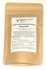 Graviola Extrakt 10 :1 - Kapseln - 100 Stück a 600 mg
