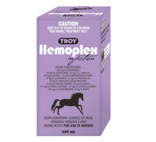 Troy HEMOPLEX 100 ml multi Vitamin, mineral, Amino acid supplement for Horses &