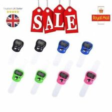 Digital Finger Ring Tally Counter Hand Held Knitting Row counter CLICKER_UK