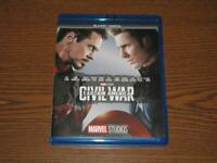 Captain America: Civil War (Blu-Ray, 2017) - Marvel Studios Phase 3 - No Digital