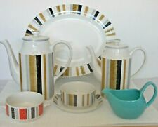 More details for midwinter vintage tableware queensbury plate soup bowl coffee pot,piccadilly etc