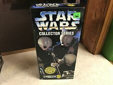 "1997 Kenner Star Wars Collector Series 12"" Figure MIB Cantina Band FIGRIN D'DAN"