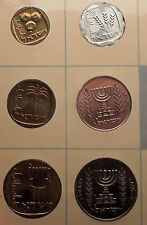 1965 ISRAEL Proof-Like Mint Set Uncirculated Coins Collection w/ MENORAH i57008
