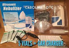 Asthmanefrin Alternative Starter Kit Asthma Inhaler Breathe EZ CAR CHARGER 5VIAL