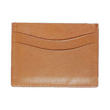 Mens Florsheim Tan Slim Card Holder [50078]