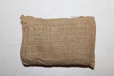 ORIGINAL Lg. WW2 AUSTRALIAN (FIRST AID) SHELL DRESSING, 1943 DATED