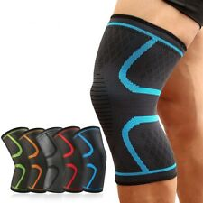 Knee Brace Elastic Kneepad Patella Support Pads Nylon Sports Running Fitness New