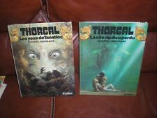 THORGAL - LOT DES TOMES 11 ET 12 EN EDITIONS ORIGINALES