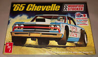 AMT 1965 Chevelle Modified Stocker Stock Car 1:25 scale model car kit new 1177