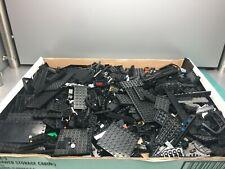 LEGO Bulk Bricks, Pieces, Parts Lot - Black - almost 5 pounds!