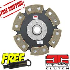 Honda Civic CRX 1.6L D16 Competition Clutch 6 Puck Solid 99698-0620 D16Y  D16Z