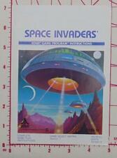 Space Invaders Atari Game Program Instructions 1980 User's Guide Manual