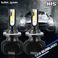 H15 LED Headlight Hi/Lo Beam Bulbs 300000LM 6000K Fanless DRL For VW Audi Benz