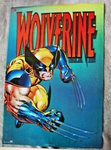 1994 Wolverine Marvel X-Men Claws OSP Poster #2583 NEW SEALED +RARE+
