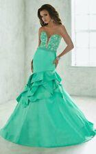 Tiffany Designs Prom Dress 46070 Mint Size 12 NWT