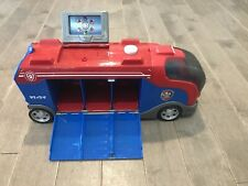 Paw Patrol Mission Cruiser Bus RV Transporter w/ Working Lights And Sounds.