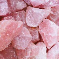 Rose Quartz Crystal Collection💎Bulk Rough High Carat Mineral Healing Rock Lot
