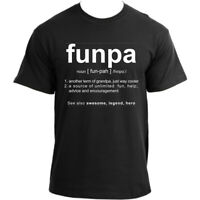 Funpa T-Shirt I Grandpa Definition T Shirt Grandfather Humor Funny Grampa Tshirt