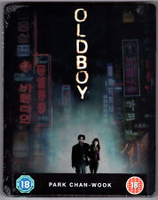 OLDBOY BLU-RAY STEELBOOK NEU & OVP SEALED SOLD OUT PARK CHAN-WOOK