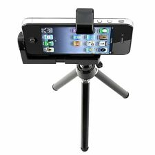 NEW Rotatable Tripod Mount Stand Phone Holder Black iPhone SE 5s 5 iPod Touch 5