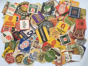 Job Lot Collection Of 100+ Beer Mats Coasters (115a)