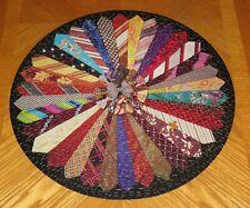 Kaleidoscope of Ties - Vintage Springbok Puzzle - Missing 1 Piece - Assembled
