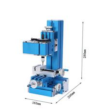 Mini Milling Machine Diy Woodworking Metal Aluminum Processing Tool 100240v
