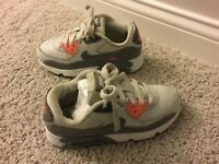 Kid's Nike Air Max 90 Athletic Shoes Girl's Size 2Y Multi-Color