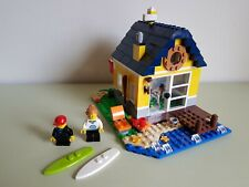 LEGO CREATOR 3-IN-1 BEACH HUT (31035) - COMPLETE BUILD - WITH INSTRUCTIONS
