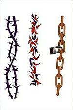 Totally Tattoo Party Art Airbrush Stencils - Armband 2