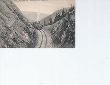 Brockenbahn  Train   Louis Glaser  Postcard 4243