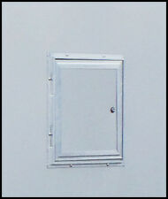 Triton 09037-WH White Snowmobile / ATV Trailer Fuel Door