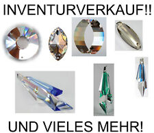 INVENTURVERKAUF: SWAROVSKI ELEMENTS Kristalle Pendel Tropfen Prisma Feng Shui